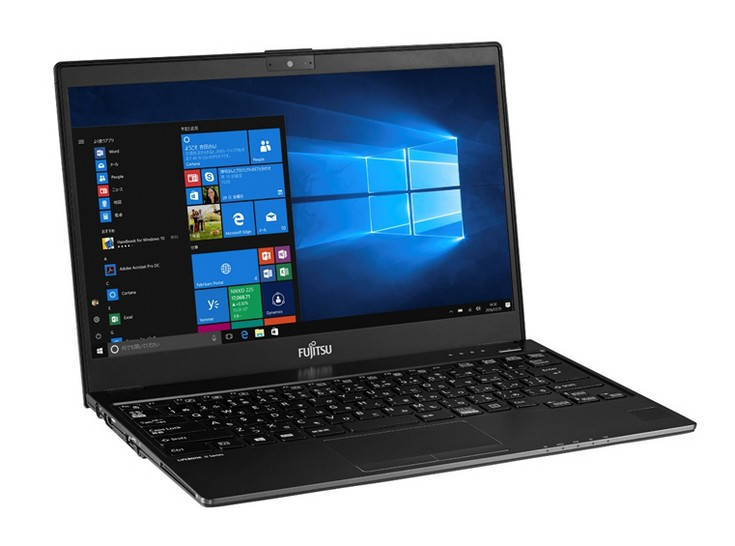 Fujitsu выпустила 13-дюймовые ноутбуки, которые весят менее 800 граммов