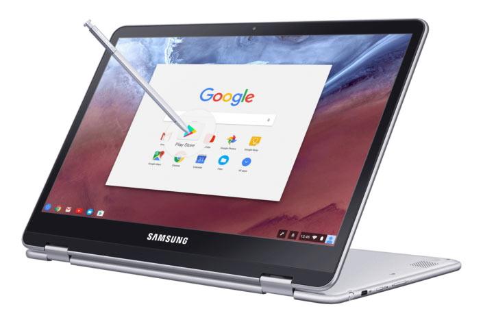 Самсунг анонсировала сенсорные Chromebook Plus иChromebook Pro