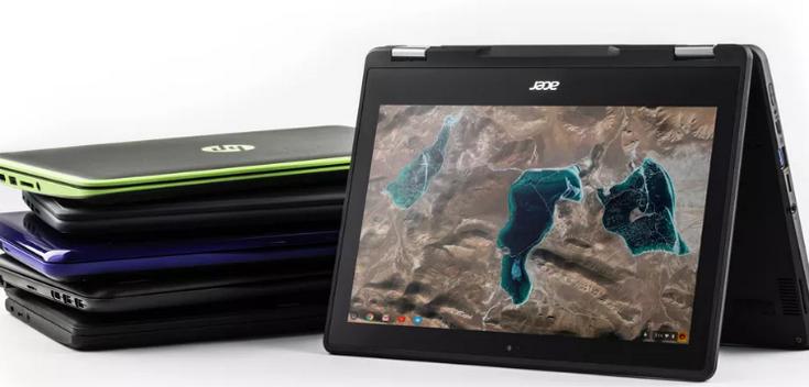 Хромбуки Acer Chromebook Spin 11 и Asus Chromebook Flip C213