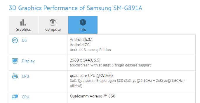 Смартфон Samsung Galaxy S7 Active прошел тестирование с ОС Android 7.0