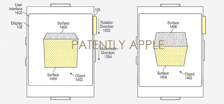 Apple исследует возможность использования колесика Digital Crown в смартфонах и планшетах