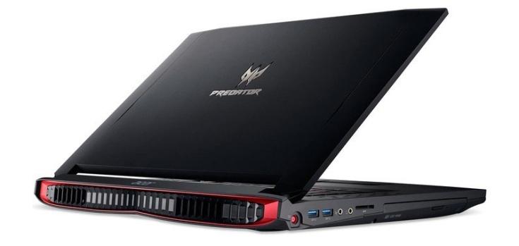 Acer обновила ноутбук Predator 17 X