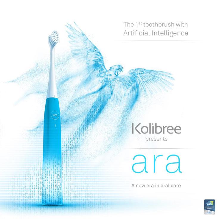Kolibree Ara помогает лучше чистить зубы