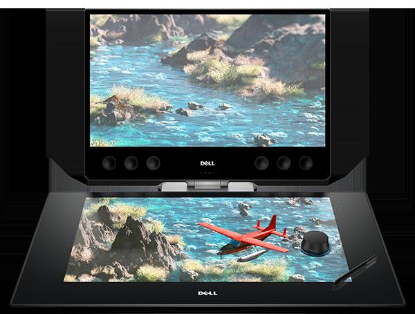 Dell Canvas — 27-дюймовый сенсорный дисплей ценой 00 для управления ОС и работы с прикладным ПО