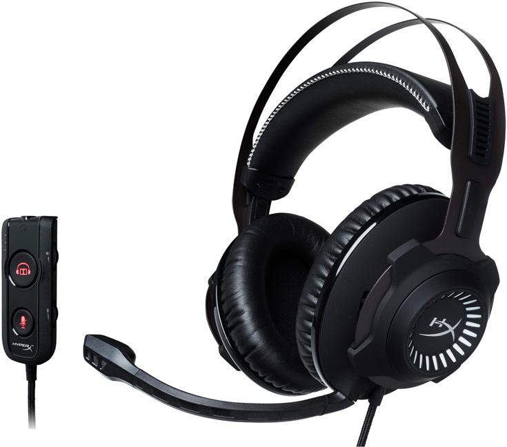 Гарнитура HyperX Cloud Revolver S поддерживает объемный звук Dolby 7.1 Surround Sound