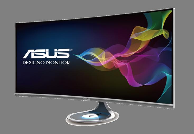 Монитор Asus Designo Curve MX38VQ основан на панели IPS