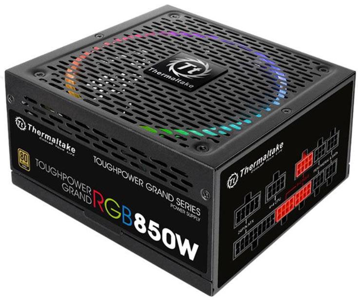 На CES 2017 представлены блоки питания Thermaltake Toughpower Grand RGB Gold и Smart Pro RGB Bronze