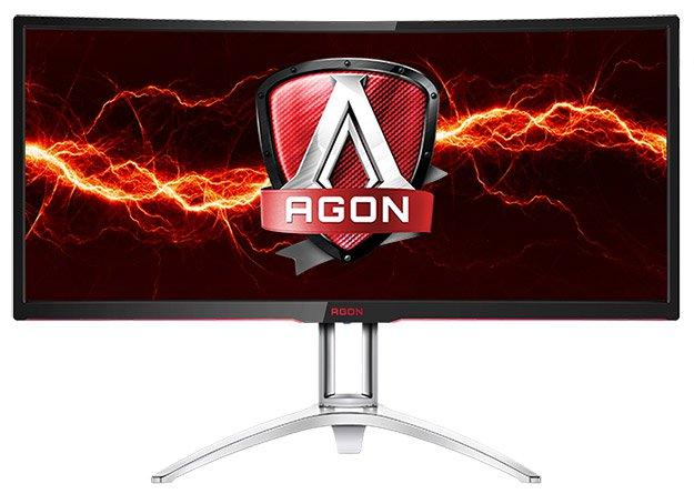 AOC представила 35-дюймовый монитор AGON AG352UCG сизогнутым дисплеем