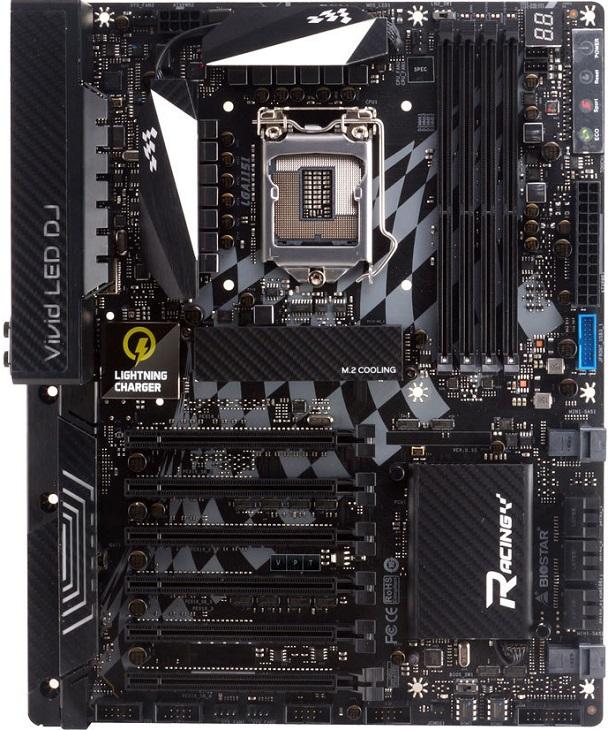Плата Biostar Racing Z270GT8 лишилась комплектного SSD
