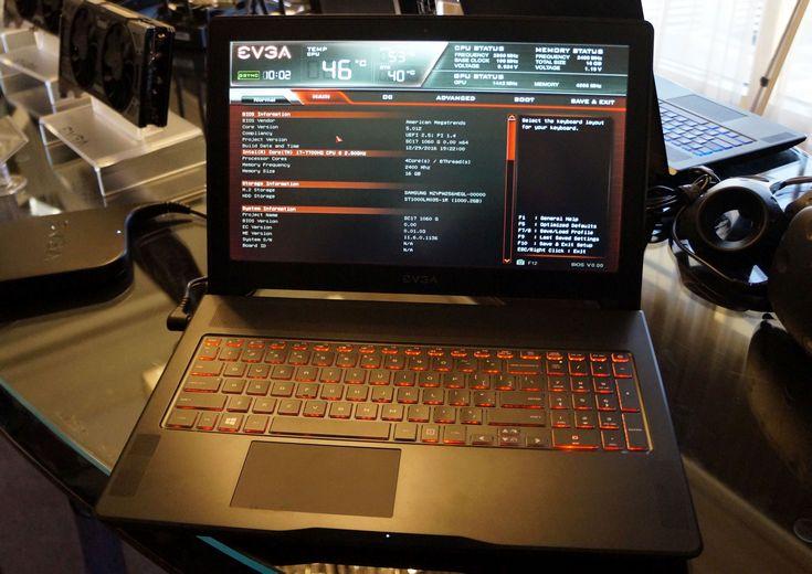 Игровой ноутбук EVGA SC15 Gaming Laptop получил видеокарту GeForce GTX 1060