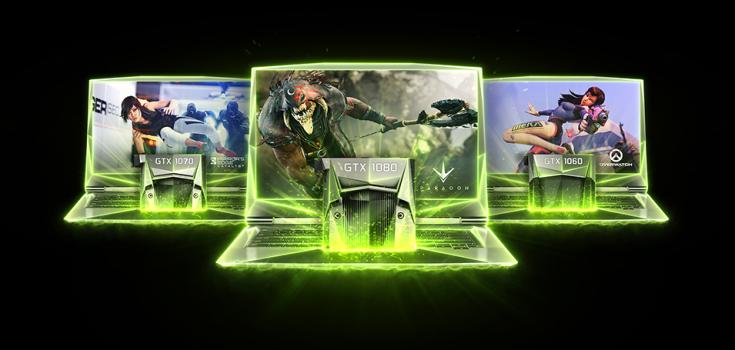 Nvidia представила мобильные карты GeForce GTX 1050 и GTX 1050 Ti