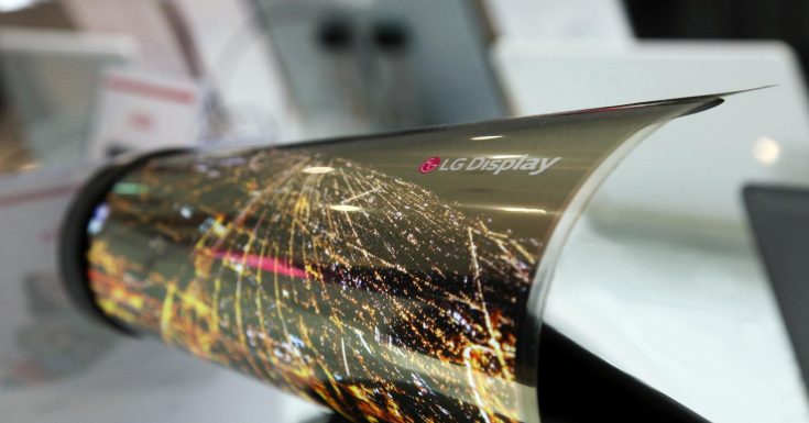В 2020г LGначнет выпускать гибкие OLED-дисплеи