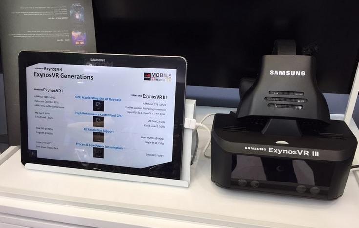Самсунг  ExynosVR: прототип автономного VR-шлема