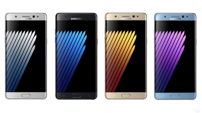 Самсунг возвращает нарынок Galaxy Note 7, отозванные из-за взрывоопасности