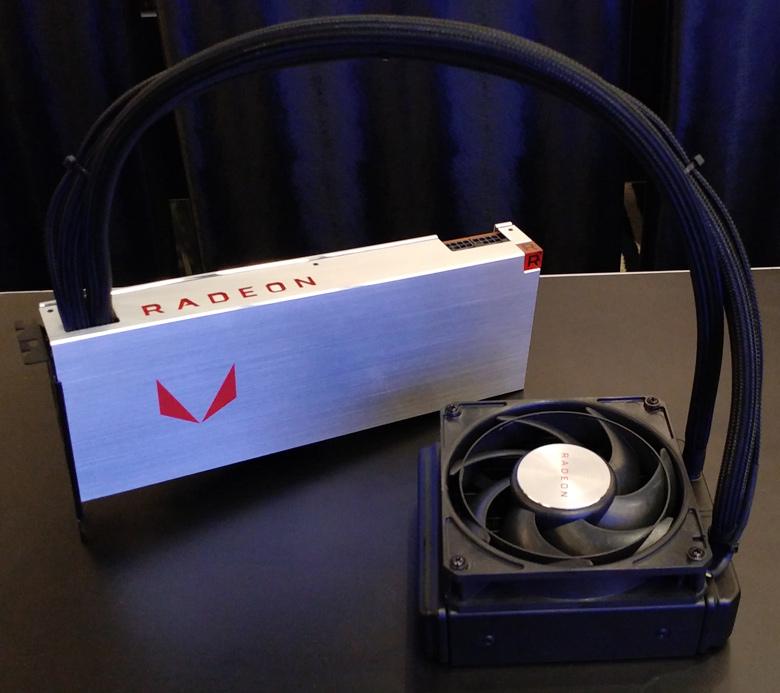 Компания AMD продемонстрировала 3D-карты AMD Radeon RX Vega