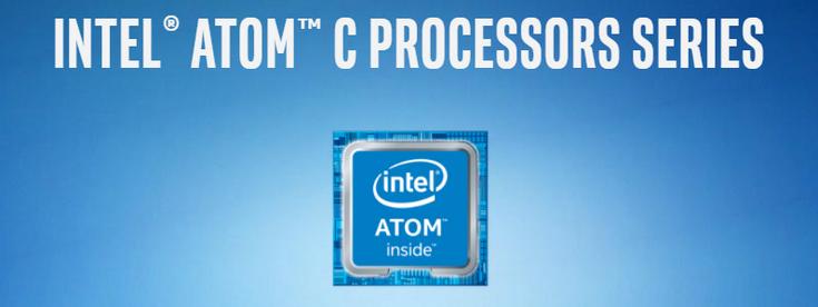 Intel выпустила два новых CPU Atom C
