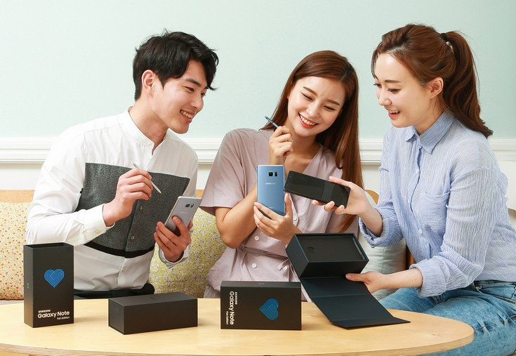 Samsung Galaxy Note Fan Edition не появится в Европе или США