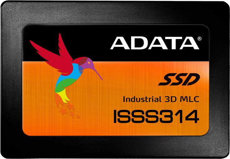 Накопители Adata ISSS314 рассчитаны на использование в промышленной электронике