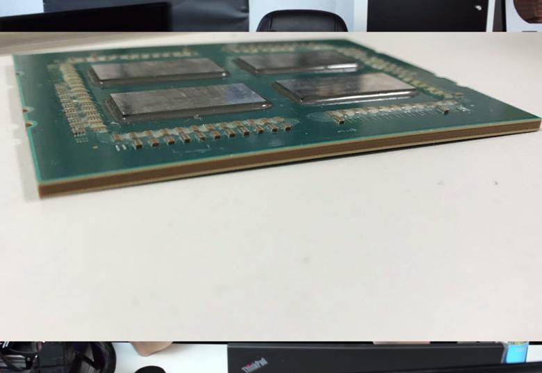 Крышка AMD Ryzen Threadripper припаяна к кристаллам