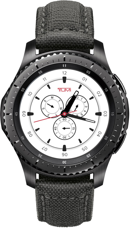 Умные часы Samsung Gear S3 frontier TUMI Special Edition стоят $450