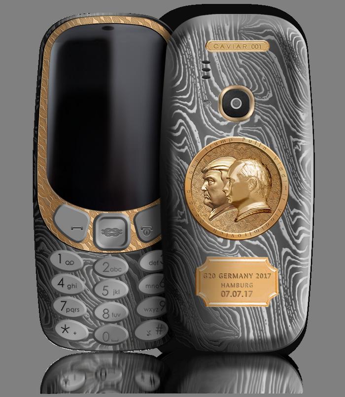 Caviar представила специальную версию телефона Nokia 3310 за 149 000 руб.