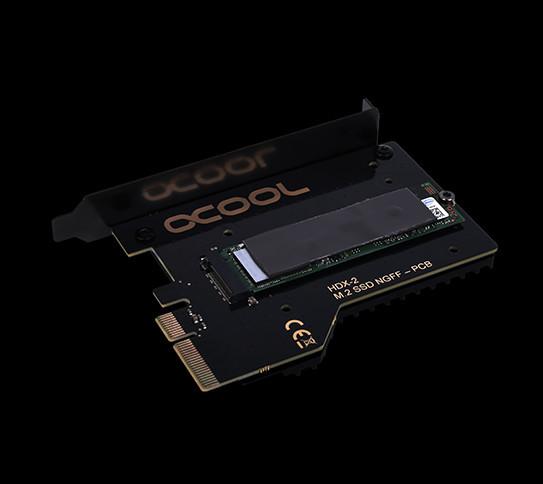 Одновременно представлена модель Alphacool Eisblock  HDX-2