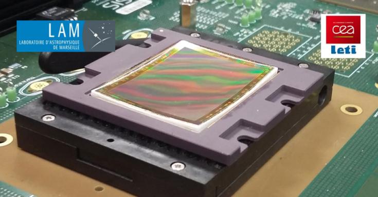 Вогнутый датчик изображения разрешением 20 Мп предназначен для астрономов