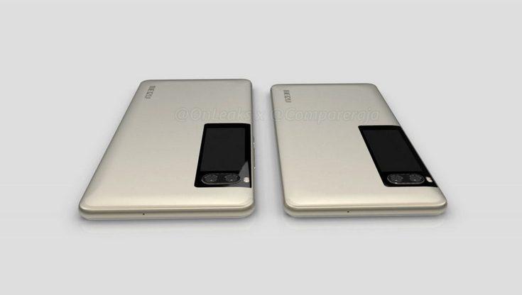 3D-модели смартфонов Meizu Pro 7 и Pro 7 Plus демонстрируют максимальную схожесть аппаратов
