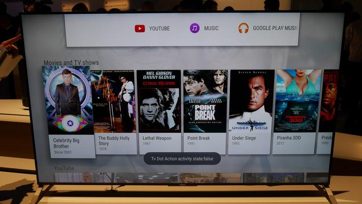 Телевизоры Sony получили поддержку Alexa