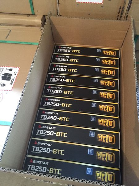 Biostar и ASRock готовят системные платы с 12 и даже 13 слотами PCIe для добытчиков криптовалют