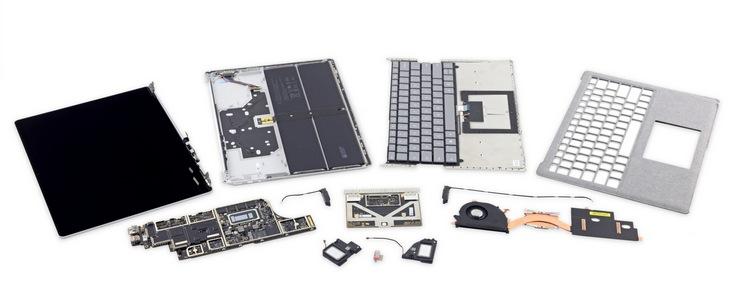 Microsoft Surface Laptop заработал у iFixit ноль баллов