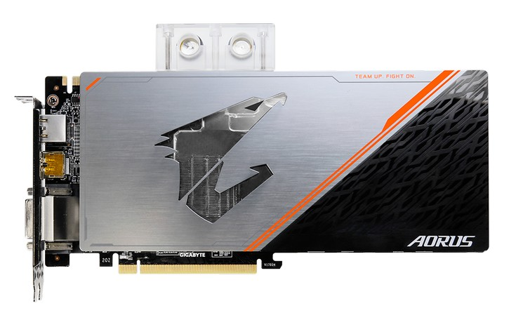 Gigabyte представила карту Aorus GeForce GTX 1080 Ti Waterforce WB Xtreme Edition 11G