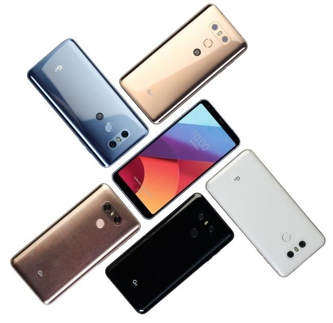 Мобильные телефоны  LGG6 + иLG G6 32 ГБдебютировали вЮжной Корее