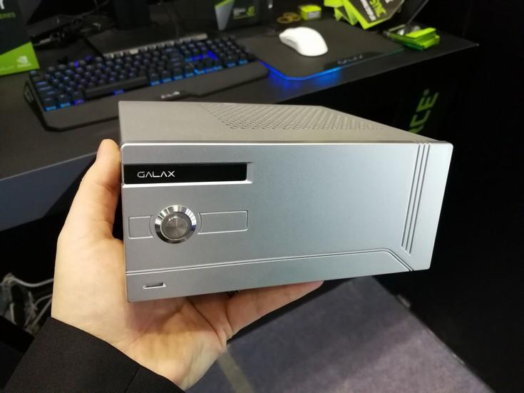 Galax показала одну из самых миниатюрных внешних видеокарт на основе ускорителя GeForce GTX 1060