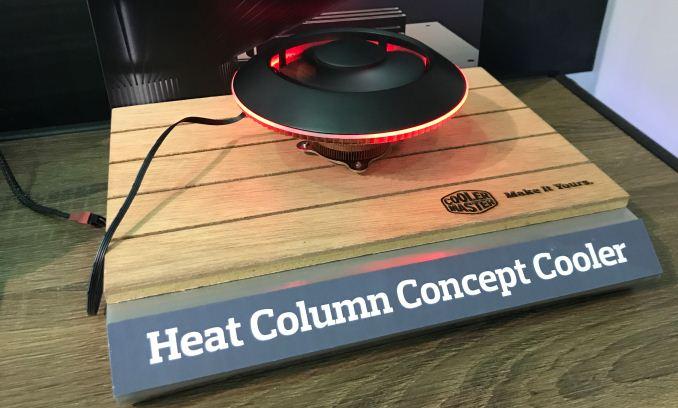 Cooler Master показала два концептуальных процессорных охладителя, один из которых напоминает гриб