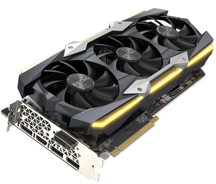 Представлена видеокарта Zotac GeForce GTX 1080 TiAMP Extreme Core Edition