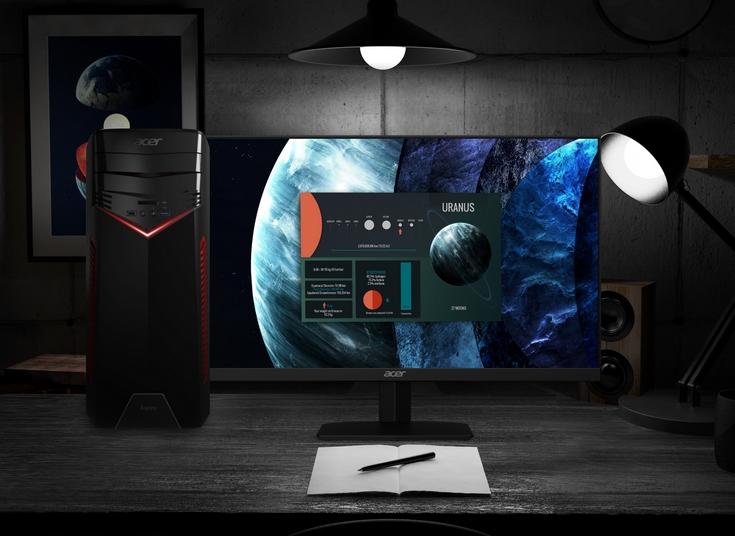 Acer предлагает настольные ПК Aspire GX-281 с процессорами Ryzen по цене от 800 долларов