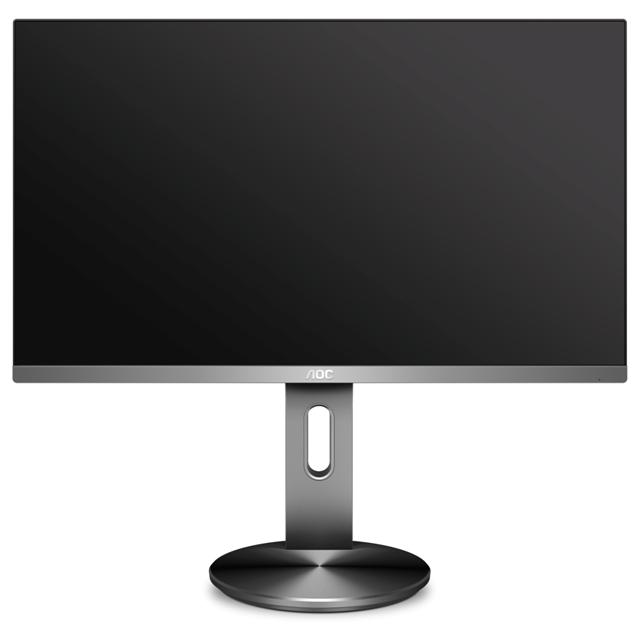 AOC представила пять дисплеев с матрицами IPS, 100-процентным покрытием sRGB и тонкими рамками