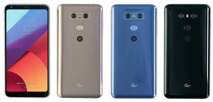 LG G6 стал доступен в новых цветовых вариантах