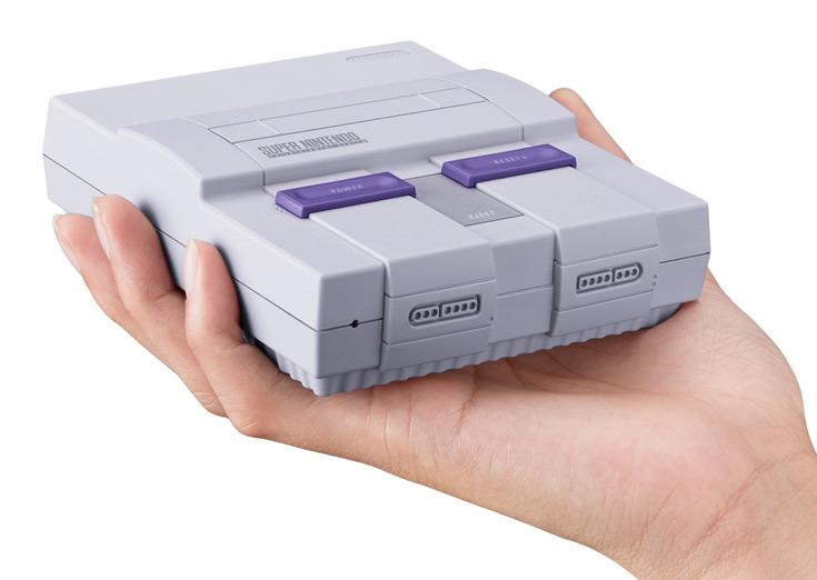Продажи Nintendo Super NES Classic Edition начнутся 29 сентября