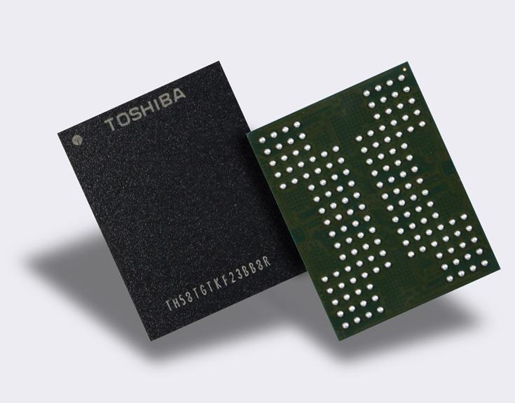 Toshiba  QLC 3D NAND