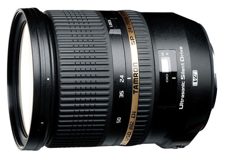 Подробные технические характеристики Tamron SP 24-70mm F/2.8 Di VC USD USD G2 пока неизвестны