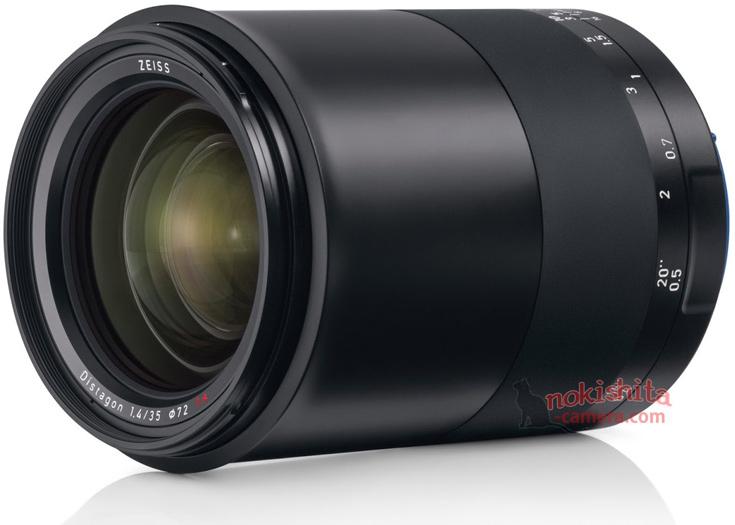 Полнокадровый объектив Zeiss Milvus 1.4/35 будет выпускаться в вариантах для зеркальных камер Canon и Nikon