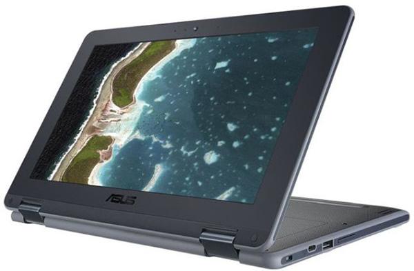 Asus Chromebook Flip C213NA – ученический ноутбук-трансформер с камерой в клавиатурном блоке