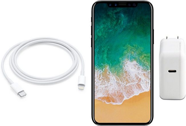 iPhone 8 может получить 10-ваттное зарядное устройство с разъемом USB-C