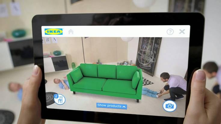 Apple и IKEA разработают приложение дополненной реальности для подбора мебели