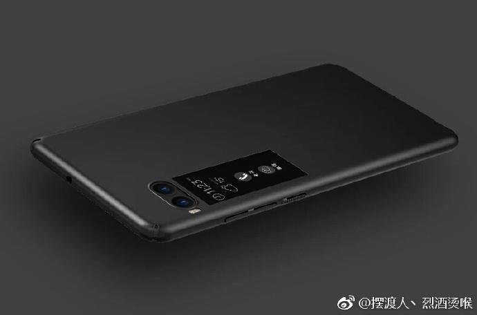 Meizu Pro 7 получит цветной дополнительный дисплей