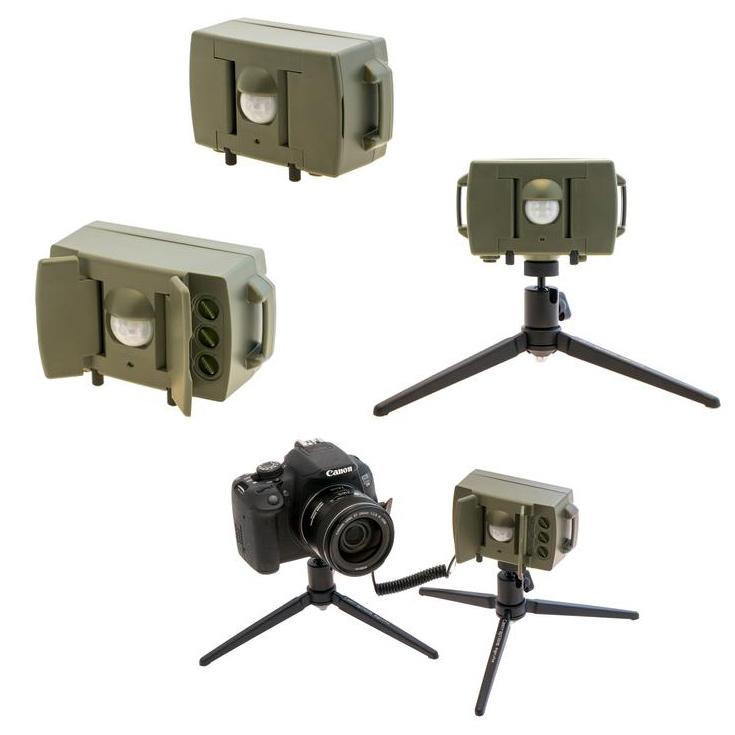 Датчик совместим с камерами Canon, Nikon и Sony