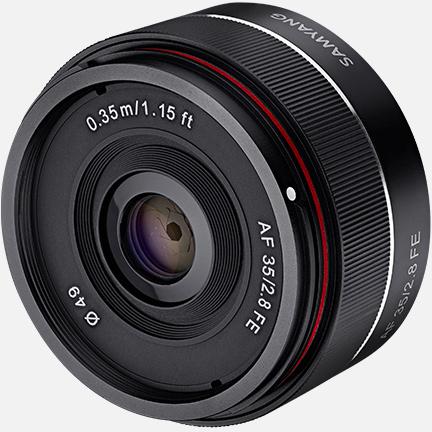 Продажи Samyang AF 35mm F2.8 FE должны начаться в июле по рекомендованной цене 299 евро