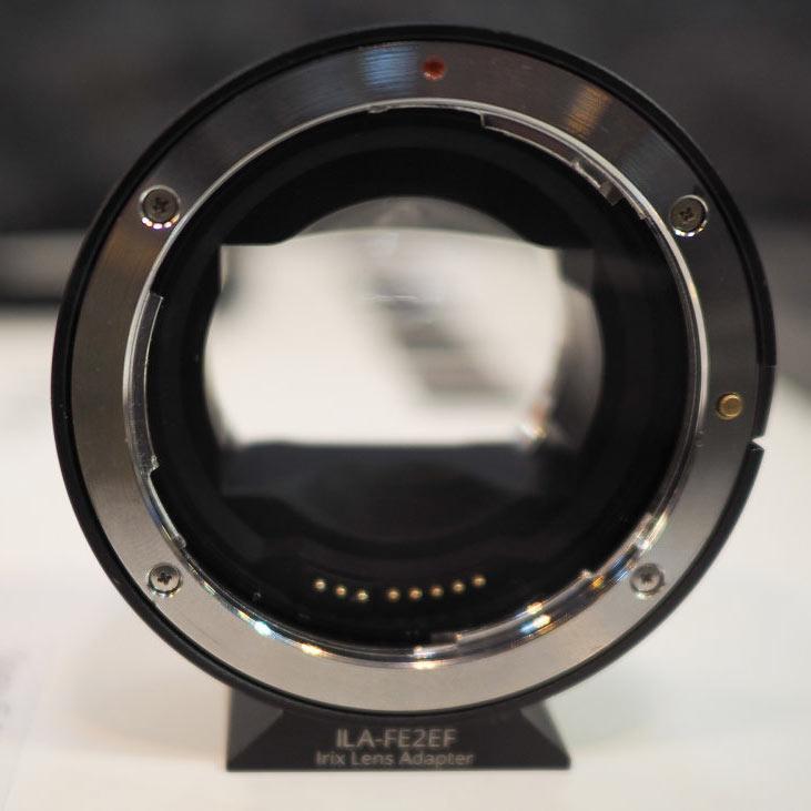 Irix готовит к выпуску переходник для установки объективов с креплением Canon EF на камеры с креплением Sony E